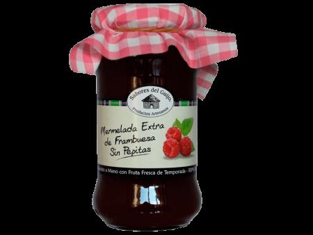 Mermelada Extra Artesana 100% Natural de Frambuesa sin Pepitas Sabores del Guijo Casa Alonso
