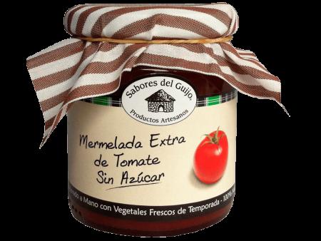 Mermelada Extra Artesana 100% Natural de Tomate Sin Azúcar Sabores del Guijo Casa Alonso